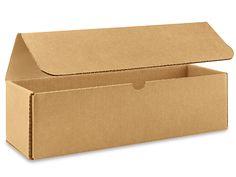 "36 x 5 x 30"" 200 lb. FOL Side Loading Corrugated Boxes S-4554 - Uline"