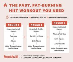 HIIT is likewise responsible for developing muscle mass. This is because HIIT constructs endurance and triggers more blood circulation with better contractility to the muscles. High Intensity Workout, Intense Workout, Hiit Benefits, Hiit Session, Kettlebell Swings, Workout Kettlebell, Cardio Workouts, Kettlebell Deadlift, Fat Workout