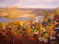 Остроухов Илья Семенович. Золотая осень.