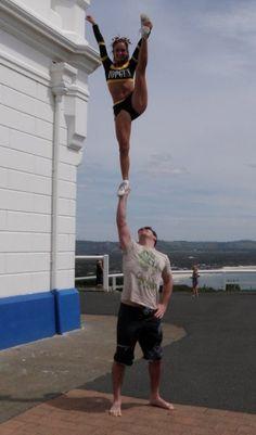 Purtay #cheer #cheerleading #coed #stunt #sport