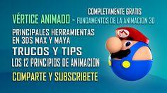 Vértice Animado - Cursos de animación 3D  Comparte y Subscribete. https://www.youtube.com/user/verticeanimado