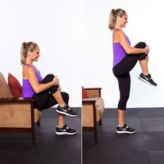 Do this fat-blasting circuit in your living room—no equipment needed!