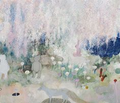 weeping cherry tree--Tomoko Nagai