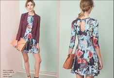 5 look para lucir vestidos con estampado floreal y básico - http://vestidosglam.com/5-look-para-lucir-vestidos-con-estampado-floreal-y-basico/