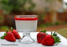 Gourmet Girl Cooks: Panna Cotta Ricotta - Low Carb & Sugar Free
