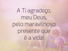 Agradeço a Deus pela minha vida (...) https://www.mundodasmensagens.com/mensagem/agradeco-a-deus-pela-minha-vida.html