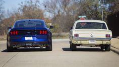 2015 Mustang, 1966 Mustang
