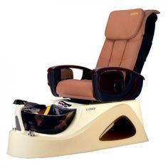 Argento SE Spa Pedicure Chair - The ANS Argento SE is a stylish stainless steel pedicure spa that features beautiful glass sink bowl. Spa Pedicure Chairs, Pedicure Spa, White Pedicure, Spa Chair, Massage Chair, Nail Salon Furniture, Furniture Deals, Spa Lighting, Remote Control Holder