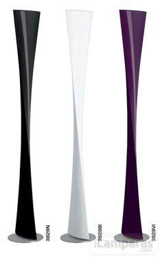 polaris lampara de pie 30x193cm 1x230w r7s hl blanco (3829BI) - Fontana Arte / iLamparas.com