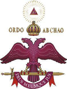 Brasão do Supremo Conselho do Grau 33 do Rito Escocês Antigo e Aceito da Maçonaria Para a República Federativa do Brasil.