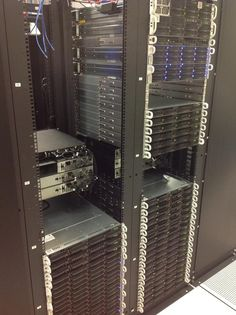 New rack of servers at Hivelocity.