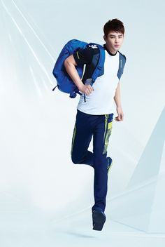 Seo In Guk For ISENBERG's SS2014 Ad Campaign