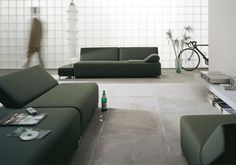 SCROLL sofa by VERTIJET design studio for COR