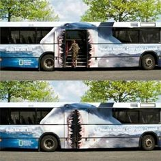I'd board a bus with this on it even if I had no place to go.