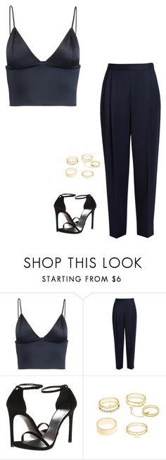 """Untitled #1153"" by h1234l on Polyvore featuring T By Alexander Wang, The Row, Stuart Weitzman and Charlotte Russe"