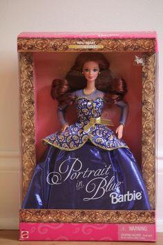 bd1ea6db201 Cool Blue Barbie Doll Mattel Vintage Brush On Hair Color 1997 20122 NRFB  for sale online