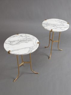 Fabulous Jansen marble tables Set of by Liz O uBrien at Gilt