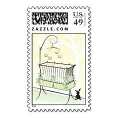 Boy or Girl - Baby Crib Stamp