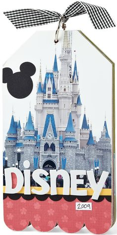 The Online Community and Scrapbook Club from Creating Keepsakes Disney Scrapbook Pages, Scrapbook Journal, Mini Scrapbook Albums, My Scrapbook, Scrapbooking Layouts, Scrapbook Photos, Disney Cards, Disney Diy, Mickey Mouse