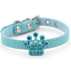 Crown Fashion halsbånd - Blå