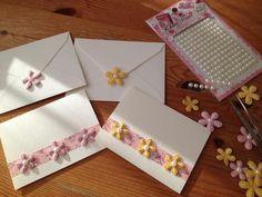 203.ハガキ大のカードで♪簡単手作りカード | 簡単手作りカード                                             Chocolate Card Factory