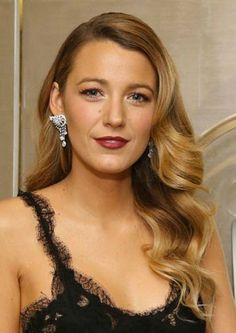 You can't really go wrong with long, glossy curls like Blake Lively.