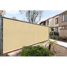 H x 4 ft. W Farragut Decorative Polypropylene Privacy Screen Privacy Fence Screen, Fence Screening, Fence Gates, Outdoor Areas, Indoor Outdoor, Outdoor Living, Outdoor Decor, Outdoor Fencing, Metal Fence Panels