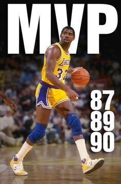 May 19, 1987 - Magic Johnson won his first of what would be three NBA MVP's. He was first guard to win the prestigious honor since Oscar Robertson in 1964.  He posted averages of 23.9 ppg and a league-leading 12.2 assists.