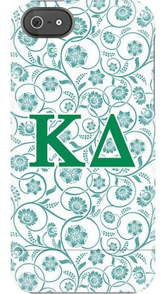 Kappa Delta Floral case by Sorority Life