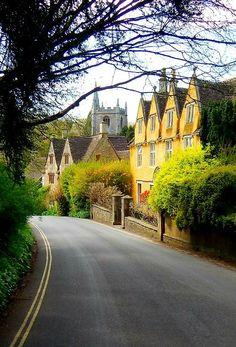 Castle Combe, Wiltshire, Cotswolds, England, UK