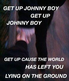 johnny boy // twenty øne piløts (creds: cryingglitter)<< I love this song so so so so so so so so so so so soooooooooo (etc) much
