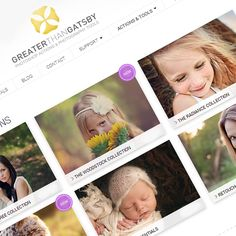 Set of 12 FREE Photoshop Actions from Greater than Gatsby - Find it FREE Photography