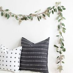 Make this easy and minimal eucalyptus garland, perfect for party decor or for a simple way to bring fall into your home!