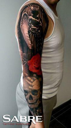 Sabre Tattoo Supplies Robert Tufeanu