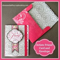 Obsessed with Scrapbooking: [Video]CTMH Artiste Friend Quick Card and Envelope!