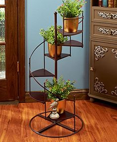 Spiral Staircase Multi Use Accent Table Plant Stand Decor... https://smile.amazon.com/dp/B01H8Z1NMS/ref=cm_sw_r_pi_dp_x_6b2XybGFW4XDP