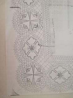 Bobbin Lace Patterns, Lace Border, Textile Art, Textiles, Elsa, Bobbin Lace, Crocheting, Lace Stencil, Nail Patterns