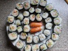 mijn eerste zelfgemaakte sushi