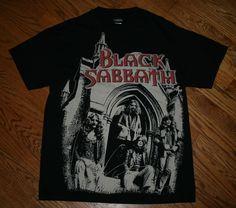 Black Sabbath T-Shirt Men's Medium Heavy Metal Hard Rock Classic Winterland 2005 #Winterland #GraphicTee