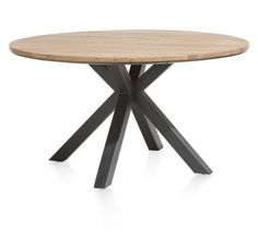 Colombo Round Dining Table (available In Or By Xooon Wooden Dining Tables, Dining Room Table, Wood Table, Dining Chairs, Ikea Bank, Round Bar Table, Japanese Interior, Large Furniture, Solid Oak