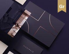 done by us - Corporate Identity / Interior Design Brand on Behance Corporate Identity, Corporate Design, Branding Design, Brand Identity, Luxury Graphic Design, Brochure Design Layouts, Stationary Branding, Brand Presentation, Wedding Invitation Card Design