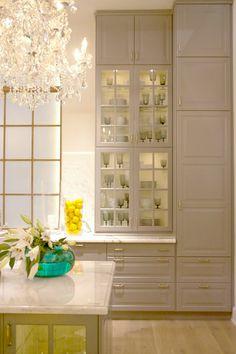 elliven studio: Recap - Part One. Ikea Canada, Sarah Richardson Design & Aerin via Cocoon Furnishings Elegant Kitchens, Grey Kitchens, Cool Kitchens, Beautiful Kitchens, Ikea Kitchen Design, Kitchen Wall Colors, Kitchen Ideas, Kitchen Tips, Sarah Richardson