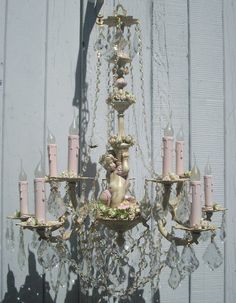 Beautiful Shabby Chic Chandelier