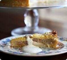My Apple Breton Cake - annabel langbein No Bake Desserts, Dessert Recipes, Tulip Cake, Chimney Cake, Apple Recipes, Easy Recipes, Sweet Pastries, Quick Easy Meals, Modern