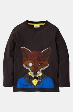 Mini Boden 'Winter Animal' T-Shirt (Little Boys & Big Boys) available at #Nordstrom