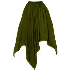 "Renaissance Medieval Costume 4 point Accent Top Skirt 27"" Drawstring... ($24) ❤ liked on Polyvore featuring costumes, renaissance halloween costume, renaissance costume, olive costume, green halloween costumes and green costumes"