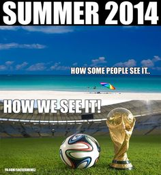 Let the fun begin - #WorldCup 2014 #Brazil is Summer's premiere fun event. Don't miss a game! #soccer