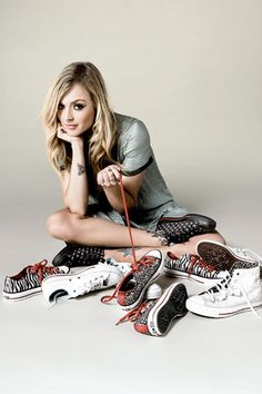 041f8b702119 Black w studs Chuck Taylor low-tops  (Fearne Cotton For Converse of
