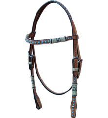 Turn-Two Tucson Browband Headstall - Statelinetack.com