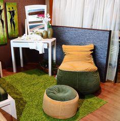 Babzsák és lábtartó Bean Bag Chair, Furniture, Design, Home Decor, Decoration Home, Room Decor, Beanbag Chair, Home Furnishings